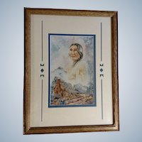 Sue Weaver, Morning Star Artist Proof Print 9/50 titled, Kentucky Woman Signed by Artist