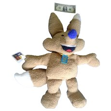 2002 Winter Olympics Fox Mascot Plush Doll Stuffed Animal