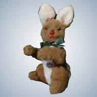 Vintage Stuffed Plush Bunny Rabbit original tag BAKI PLUSCHTIERE 1960-1980