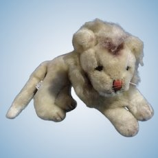 Holiday Fair Lion Stuffed Animal Plush Toy Doll 1965 Made in Japan