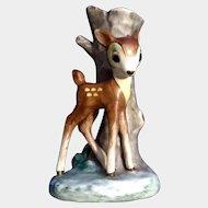 Mid-Century Goebel Bambi Walt Disney Deer Bud Vase Germany Figurine Full Bee TMK- 2
