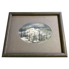 Irene Kanne, Mountain Landscape Pastel Drawing Castle Rock Colorado Artist