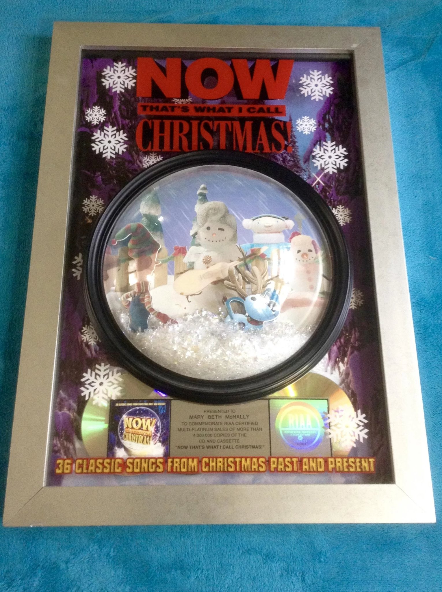 Now That\'s What I Call Christmas!, Promotional Award Commemorate ...