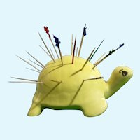 Mid-Century Turtle Toothpick Appetizer Hors d-oeuvres Holder Greece