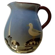 Vintage Seagull Torquay Babbacombe Pottery Motto ware Creamer 3-1/2""