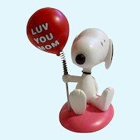 Ultimate Snoopy Valentine Luv You Mom Danbury Mint Figurine