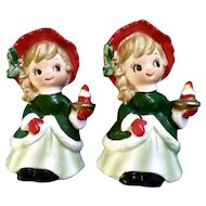 Lefton S Mr And Mrs Santa Claus Stocking Clip On