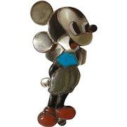 Veronica Poblano Nastacio Zuni Mickey Mouse Ring By Famous Artists Veronica Poblano Nastacio & Amelio Vintage Sterling One of her earlier pieces Size 8.5