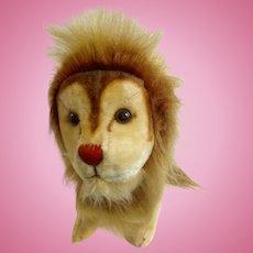 "Vintage R. Dankin & Co. Toy Lion 12"" Stuffed Plush Animal Made in Japan 1957-1970's"