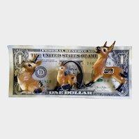 Kelvin Donkey Bone China Miniatures Made in Japan Figurines