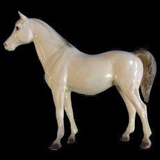 Vintage Breyer Horse, The Family Arabian Mare 1961- 1973 Glossy Alabaster Plastic Figurine