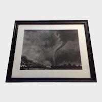 Jeanne Marie Mueller, Tornado Mixed Media Drawing