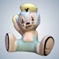 Evan K Shaw Mouse Sniffles The Mouse Warner Bro. Ceramic American Pottery Figurine 1940's