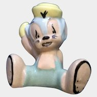 Evan K Shaw Mouse 1940's Sniffles The Mouse Warner Bro. Ceramic American Pottery Figurine