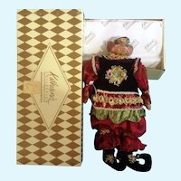 Katherine's Collection Christmas Royal Rat King Fine Sculpting Hand Painted Doll