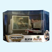 Matchbox Elvis Presley Drive-In Diorama Collectables  1956 Ford Fairline Sunliner Convertible Car Viva Las Vegas