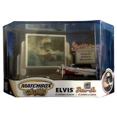 Matchbox Elvis Presley Drive-In Diorama Collectables  1956 Ford Fairline Sunliner Convertible Car Viva Las Vegas