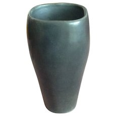 Van Briggle Vase Very Rare Discontinued Limited Edition Pottery Ceramic Metallic Silver Vase 1/100 from Colorado Springs