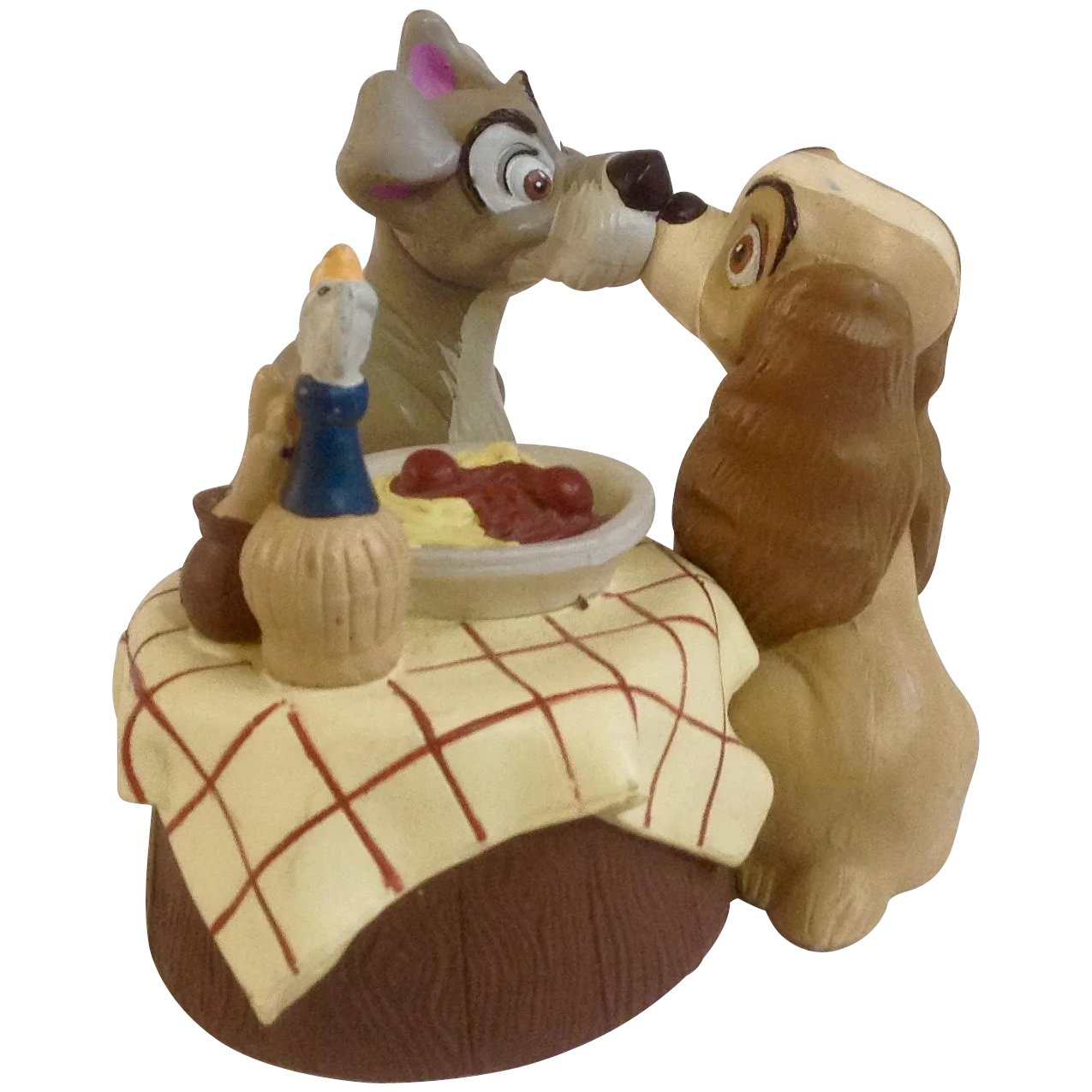 Discontinued Disney Store Lil Classics Lady The Tramp Famous Kiss Gumgumfuninthesun Ruby Lane