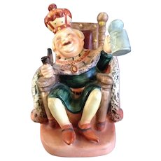 Old King Cole Lefton Figurine #1102 Japan Nursery Rhyme Vintage
