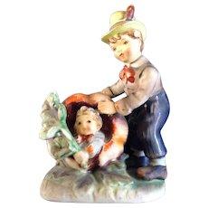 Lefton Peter Peter Pumpkin Eater Figurine  #1247 Nursery Rhyme