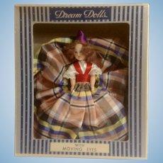 Vintage Dream Dolls Scottish Lassie # 51 Moving Eyes Elite Creations Inc. NY, NY