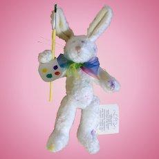 RARE 1985-1997 Retired Boyds Easter Bunny Rabbit J.B. Bean Jellies By Judith Glassick Wiley Collection Pennsylvania Stuffed Plush Animal