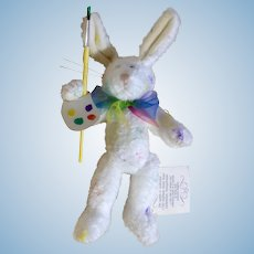 Boyds Easter Bunny Rabbit RARE 1985-1997 Retired J.B. Bean Jellies By Judith Glassick Wiley Collection Pennsylvania Stuffed Plush Animal