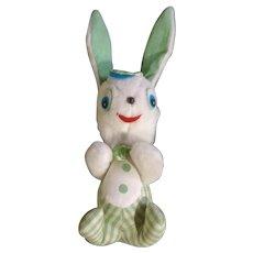 Easter Bunny Rabbit Plush Holiday Fair Stuffed Animal Made in Japan 1964