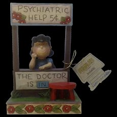 Enesco Jim Shore Peanuts Lucy The Doctor Is In Figurine