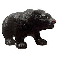 Vintage Putz Lineol Elastolin Germany Bear Composition Figurines 1920's-1940's