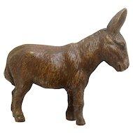 Vintage Putz Lineol Elastolin Germany Large Donkey Composition Figurines 1920's-1940's