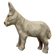 Vintage Putz Lineol Elastolin Germany Small Donkey Composition Figurine 1920's-1940's