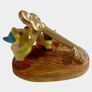 Schmid  Gus & Jaq Cinderella Figurine Mice Carrying A Key Porcelain The Walt Disney Company