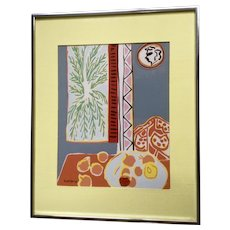 Henri Matisse, 'Still Life with Pomegranates' Serigraph Silk Screen Print