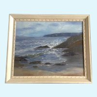 Betty Griffiths, Seascape Oil Painting of the West Coast Signed