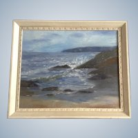 Betty Griffiths, Seascape Oil Painting of the West Coast Signed by Artist