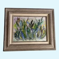 Dorothy (D.) Hall Adams, Rocky Mountain Wildflowers Oil Painting