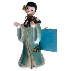 Vintage Josef Originals International Series China Chinese Girl Ceramic Figurine Made in Japan