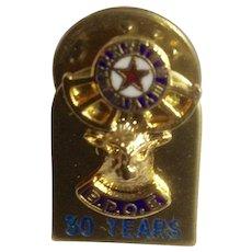 B.P.O.E. Elk Lodge 30 Year Service Award Member Pin