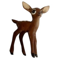 Vintage Hagen Renaker Mini Early Standing Fawn Deer 1950-1952 Discontinued #85 Figurine 2-5/8""