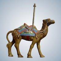 Lenox Carousel Camel Christmas Tree Ornament Retired Porcelain 1989 Upgraded Tassel