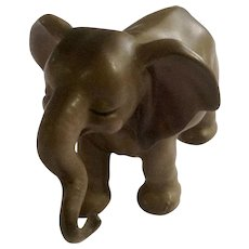 Vintage Josef Originals Standing Mother Elephant Figurine Made in Japan