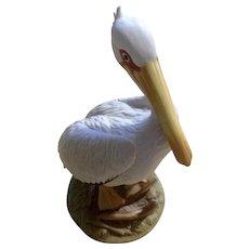Andrea by Sadek White Pelican Bird 9141 Ceramic Figurine Japan