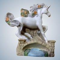 Unicorn Figurine Princeton Gallery PG TM Fantasy Hand Painted Miniature Porcelain Animal 1994
