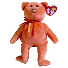Retired Orange Beanie Baby From TY Beanie Babies Exclusive to TY MasterCard Holders Only