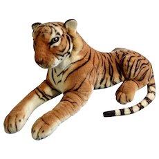 "Vintage KellyToy USA Large Bengal Tiger Stuffed Plush Animal 30"""
