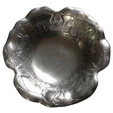 Arthur Court Bunny Rabbit Aluminum Metal Serving Bowl Dish 1989