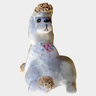 "Vintage 1950s Josef Originals California Cherie French Poodle 3-1/4 "" Tall Made in Japan Figurine"