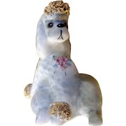 """Vintage 1950s Josef Originals California Cherie French Poodle 3-1/4 """" Tall Made in Japan Figurine"""